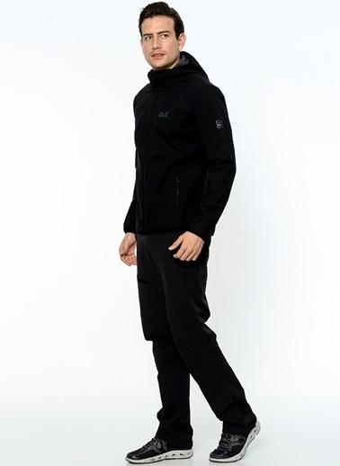 Jack Wolfskin Ceket Siyah